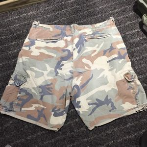 American Eagle Outfitters Shorts - American Eagle Camo Shorts